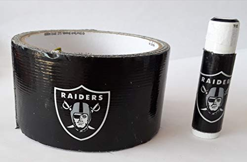 5 Oakland Raiders NFL Chap Stick Lip Balm five pack pieces BULK by In a Sticky Situation