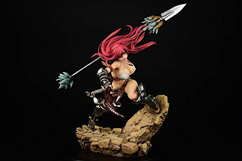 ORCATOYS Fairy Tail: Erza Scarlet, Knight Version, 1: 6 Scale PVC Figure ()