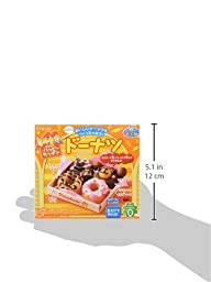 Kracie Popin\' Cookin\' kit soft donuts DIY candy