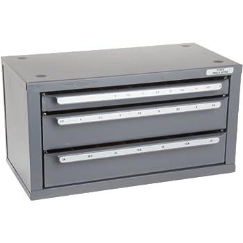 Huot 13100 Five Drawer Drill Bit Dispenser Cabinet For