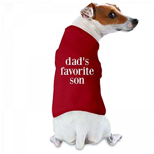 Dad's Favorite Son: Doggie Skins Dog Tank Top