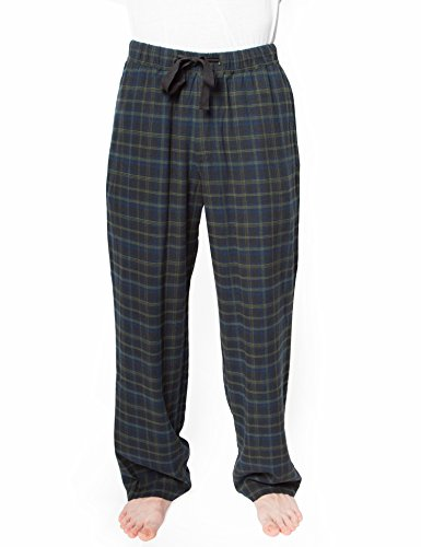 Rebel Canyon Young Men's Soft Cotton Twill Plaid Pajama Pant