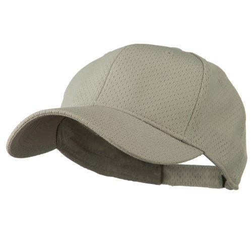 Athletic Jersey Mesh Cap (Athletic Jersey Mesh Cap - Grey OSFM)
