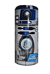 Disney Star Wars Classic R2-D2 Kid's LCD Watch with Tin Case