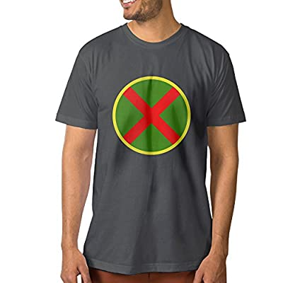 DETED Shirt Tee - Martian Manhunter Symbol For Men's DeepHeather