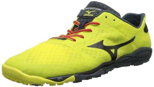 Mizuno Wave Evo-Ferus Hombre US 8 Amarillo Zapato para Correr