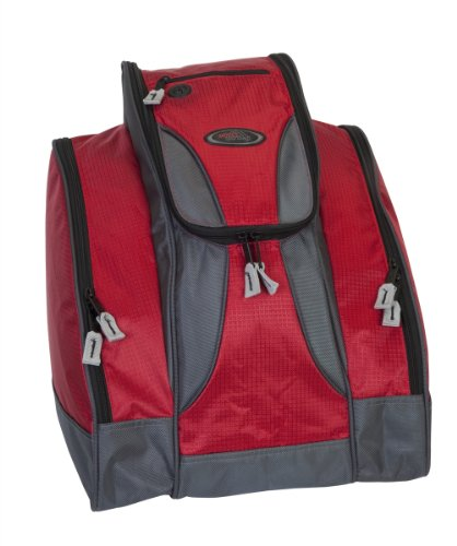 Deluxe Ski Boot Bag - Red by Select Sportbags
