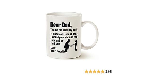 Grande Tasse-Drôle Dad Blague environ 425.24 g Happy Father/'s Day Barbe 15 oz
