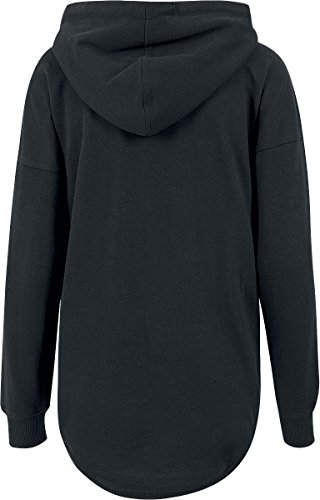 RED by EMP Oversized Terry Hoodie Sweat capuche Femme noir M