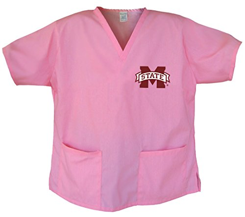 Ladies Mississippi State Shirts MSU Mississippi State Scrubs - Tops for Women Me Msu Mississippi State Scrub