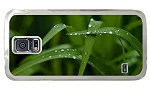 Hipster Samsung Galaxy S5 Case amazing water drops PC Transparent for Samsung S5 by lolosakes