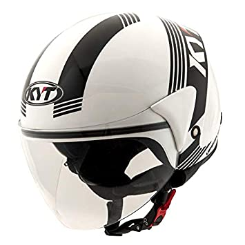 Amazon.es: KYT casco Cougar Urban Code - XS blanco