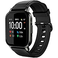 Haylou LS02 Global Version Smart Watch,Heart Rate Tracker IP68 Waterproof 12 Sport Modes Sleep Management Smart Band…