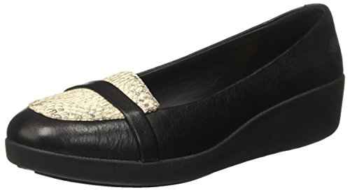 Casa Lizard para Por Mujer Estar Black Fitflop Zapatillas de Negro Loafer Pop F TM UwqFTR8