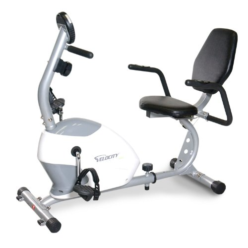 7. Velocity Magnetic Recumbent Bike