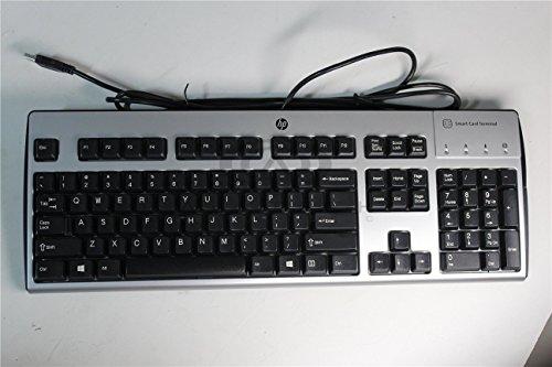 001 Keyboard Assembly (HP 701427-001 USB `WINDOWS VISTA` KEYBOARD ASSEMBLY WITH SMARTCARD READER - 10)