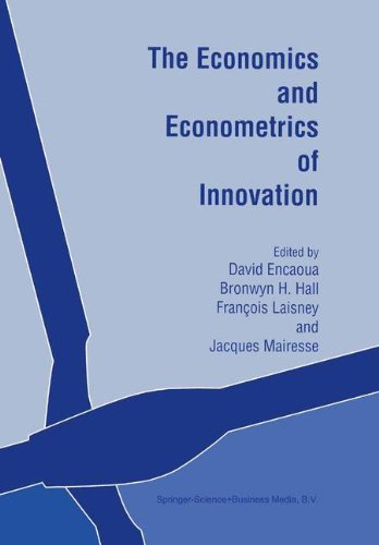 The Economics and Econometrics of Innovation pdf epub