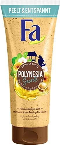 Fa Duschpeeling Polynesia Secrets Kahuna Ritual mit natürlichen Peeling-Partikeln und Kukuinuss-Öl, 200 ml