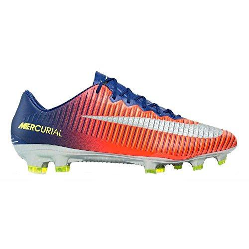 Nike Mens Mercurial Vapor XI FG Soccer Cleat (Sz. 10.5) Deep Royal Blue, Total (Mercurial Vapor Cleats)