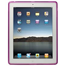 Qmadix Flex Gel Case for Apple iPad 2, Purple