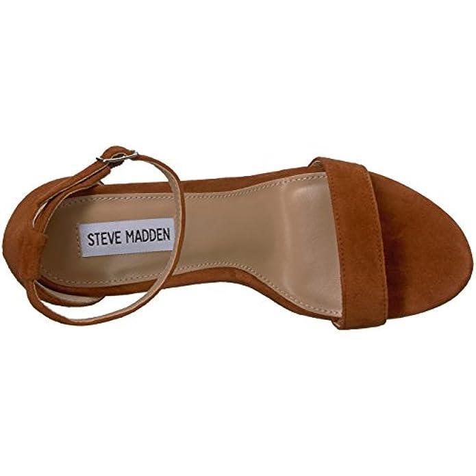 Steve Madden Women's Carrson Heeled Sandal Chestnut Multi 9 5 M Us