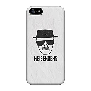 Fashion Tpu Case For Iphone 5/5s- Heisenberg On Paper Defender Case Cover