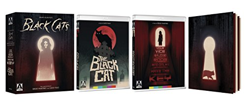 Edgar Allan Poe's Black Cats: Two Adaptations By Sergio Martino & Lucio Fulci (4-Disc Limited Special Edition) [Blu-ray + DVD]