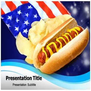 American food culture powerpoint templates for American cuisine presentation