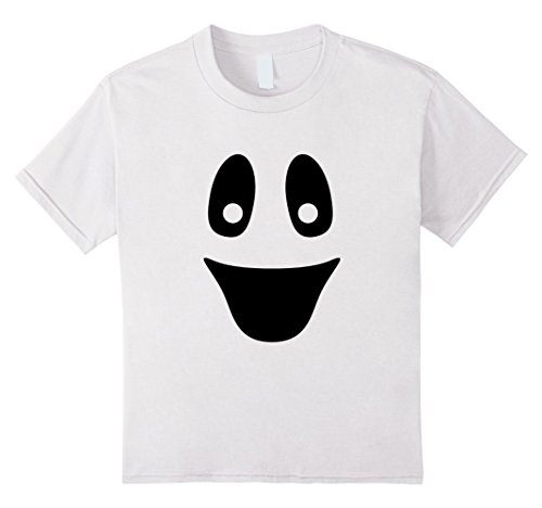 Kids Halloween Kids Shirts | Ghost Costume T Shirt Gift Idea 4 White (Kids Ghost Costume Ideas)