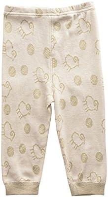 yoyosoudou Unisex para niño niña bebé pantalones colores naturales ...