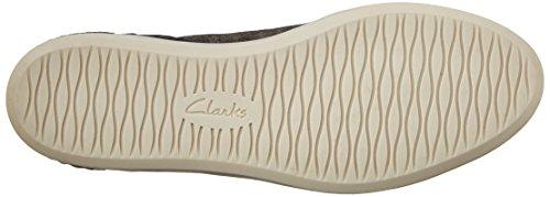 Clarks Cordella Chant zapatilla de deporte Bronze leather