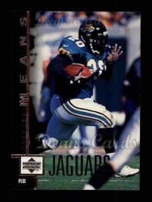 fa8c74c40 Amazon.com  1997 Upper Deck   179 Natrone Means Jacksonville Jaguars ...