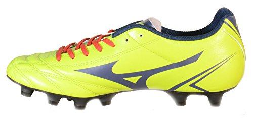Mizuno - Mizuno Monarcida Jr MD Scarpini Calcio Verdi Pelle 152437 - Verde, 36