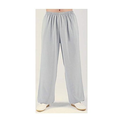AGWa Pantalones largos de yoga para hombres Pantalones de ...