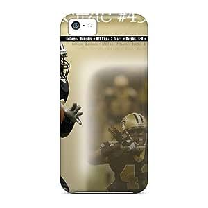 New Hard Cases Premium Iphone 5c Skin Cases Covers(new Orleans Saints)