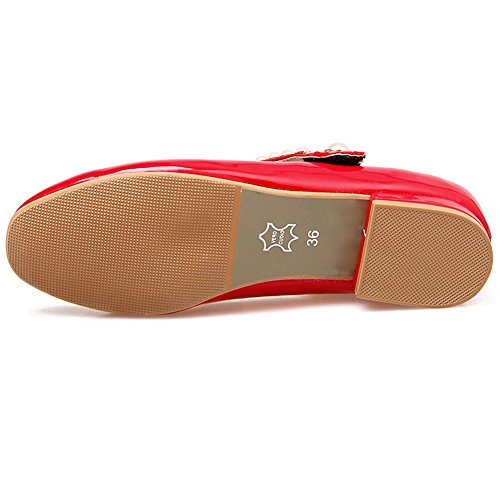 Material KingRover Sintético de Zapatos Mujer de Red Tacón xSwI7SUq
