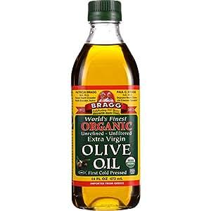 Bragg Olive Oil - Organic - Extra Virgin - 16 oz - 1 each - 95%+ Organic - - - - -
