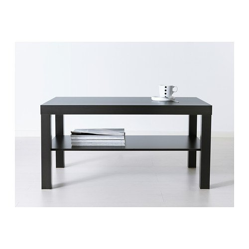 High Quality LACK Coffee table, black-brown Durable