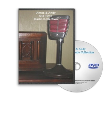 Old Time Radio Amos And Andy (Official Amos and Andy Old Time Radio OTR Mp3 Collection on DVD - Offering 366 Different Shows and Appearances for a Total of 149 Hours of Listening Enjoyment)