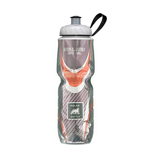 Polar Bottle Insulated Water Bottle (Spin Café) (24 oz) - 100% BPA-Free Water Bottle - Perfect Cycling or Sports Water Bottle - Dishwasher & Freezer Safe