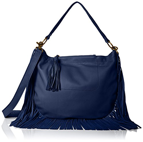 Lucky Brand Rickey Hobo Saddle Cross Body, American Navy, One Size by Lucky Brand