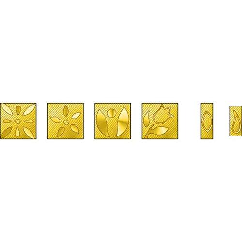 Wall Lenk DB-T2 Patterns #2 Decorative Branding Tip Assor...