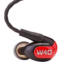 Westone W40 Four-Driver True-Fit Earphones with 3 Button MFi Cable with Microphone and MMCX Audio Cable