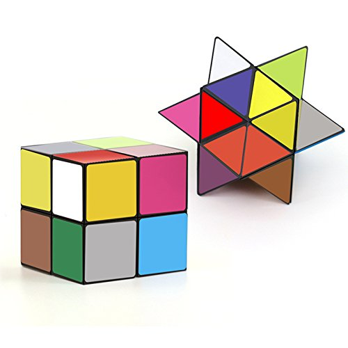 TACLKA Star Magic Cube Infinite Yoshimoto Cube - 3D Puzzle Toys for Teens Adults 3d Cube Puzzle