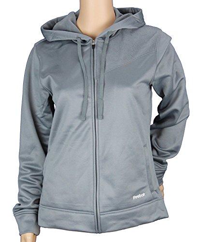 Hooded Nfl Reebok Fleece (Reebok Womens TECH Fleece Hooded Jacket, Hoodie (XX-Large, Graphite))