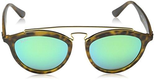 Ray-ban - Mod. 4257  - Lunettes De Soleil Femme, matte havana (matte havana)/green mirror green, taille 53
