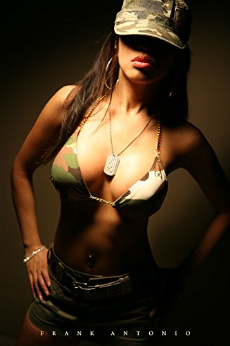 Army Babes and Military Models 24-Trading Card Set -