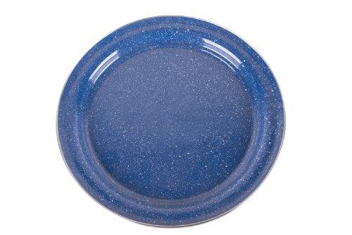 Stansport Enamel Dinner Plate, 10 1/5-Inch, Royal Blue by Stansport (Image #1)