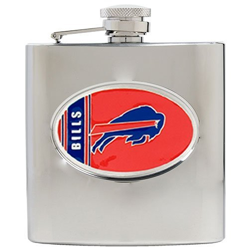 - NFL Buffalo Bills 6oz Stainless Steel Hip Flask