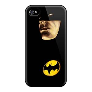Hot Tpu Cover Case For Iphone/ 4/4s Case Cover Skin - Batman Painting